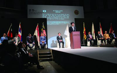 The 25th Congress of the Federation of Asian master Tailors Kobe Opening Ceremony