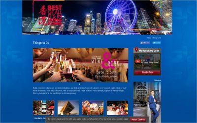 Discover Hong Kong 刋登廣告